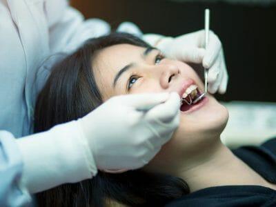 Preventative dentistry checks with the dentist