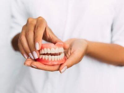 example of dentures